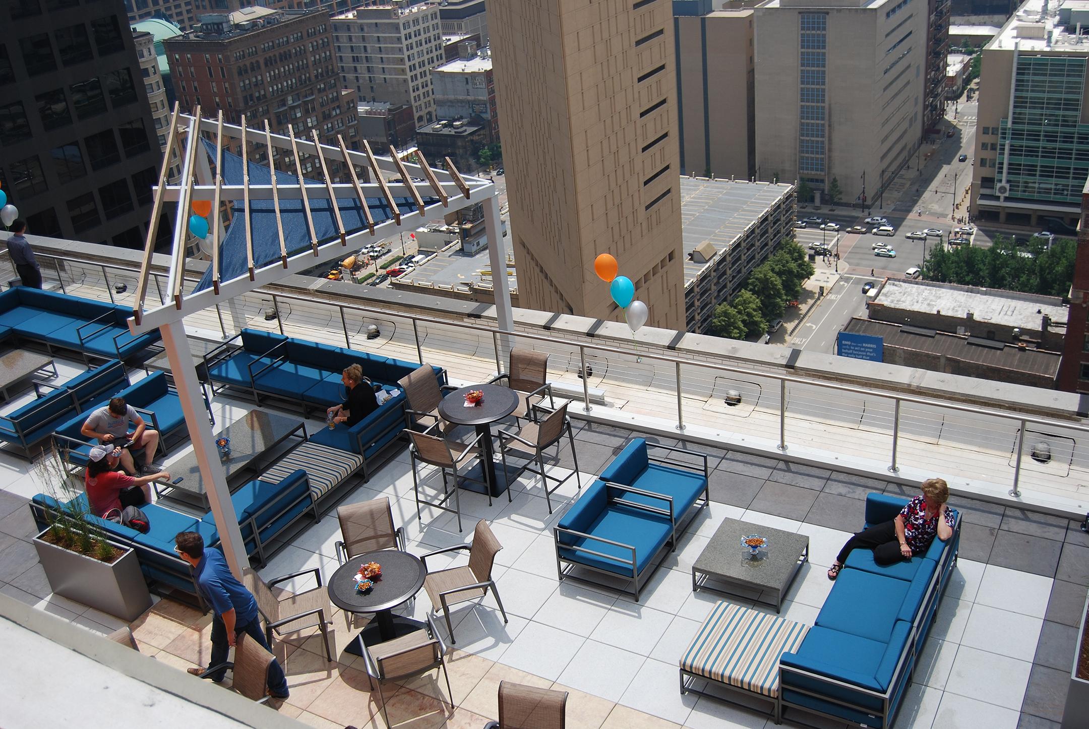 111 W Jackson's Rooftop Deck