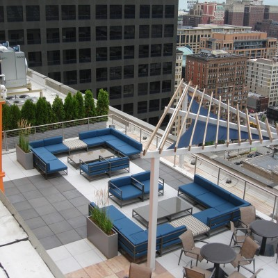 111 W Jackson Rooftop Deck, Chicago IL