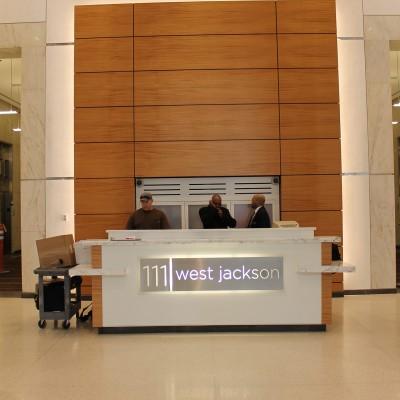 111 W jackson Lobby, Chicago IL